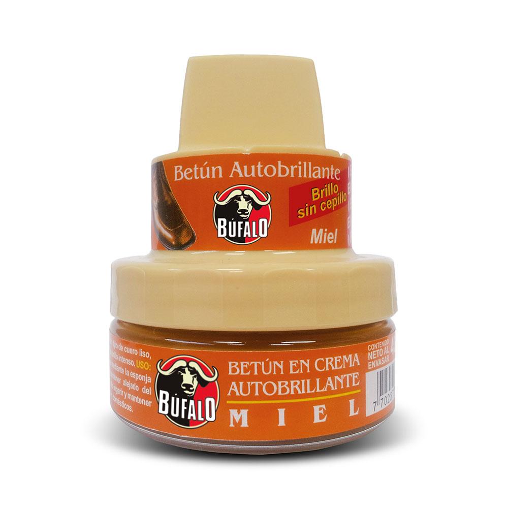 Betún crema autobrillante miel