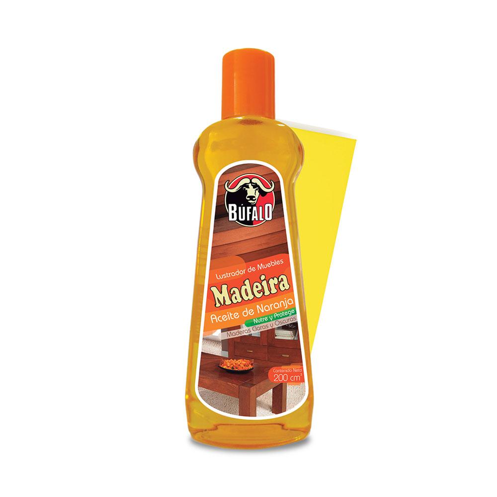 Aceite madeira naranja