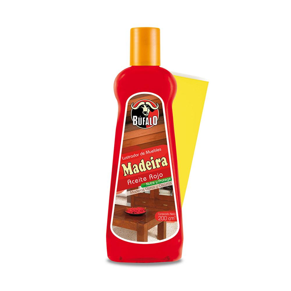 Aceite rojo madeira